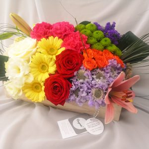 colourful, flowers, gift, ballina