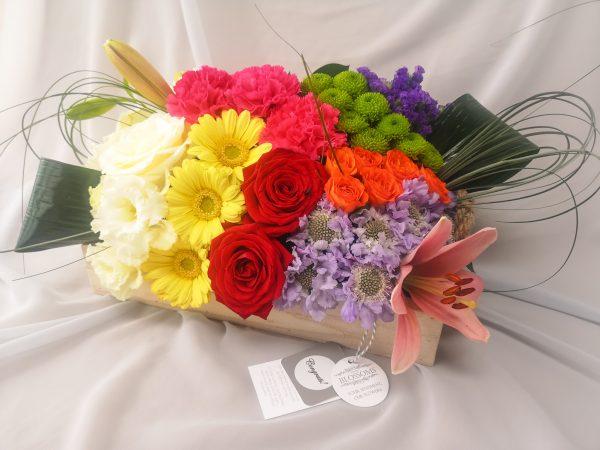 colourful, flowers, gift, ballina