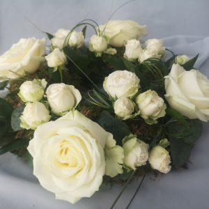 wreath, flowers, sympathy, roses, ballina, mayo